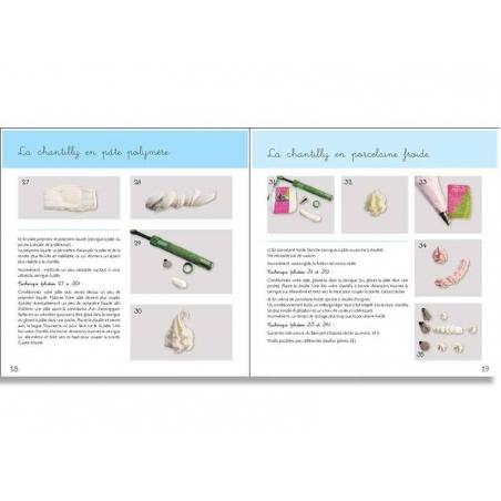 Livre créations gourmandes en pâte polymère Créapassions - 3
