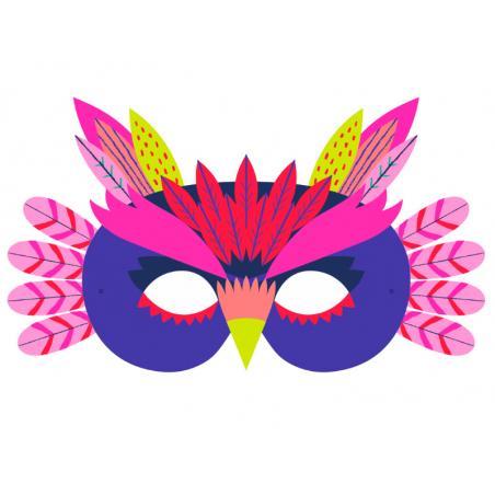Acheter Coffret créatif - mes masques d'animaux à décorer - 8 masques - 12,95€ en ligne sur La Petite Epicerie - Loisirs cré...