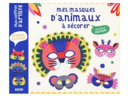 Acheter Coffret créatif - mes masques d'animaux à décorer - 8 masques - 12,95€ en ligne sur La Petite Epicerie - 100% Loisir...