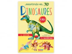 Acheter Coffret Construis en 3D DINOSAURES - 4 dinosaures à assembler - 9,90€ en ligne sur La Petite Epicerie - Loisirs créa...