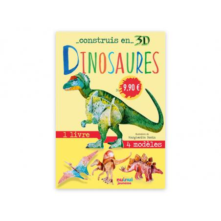 Acheter Coffret Construis en 3D DINOSAURES - 4 dinosaures à assembler - 9,99€ en ligne sur La Petite Epicerie - 100% Loisirs...