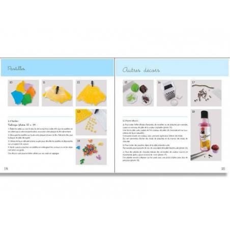 Livre créations gourmandes en pâte polymère Créapassions - 4