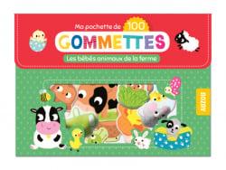 Acheter Pochette de 100 gommettes - les bébés animaux de la ferme - 4,95€ en ligne sur La Petite Epicerie - Loisirs créatifs