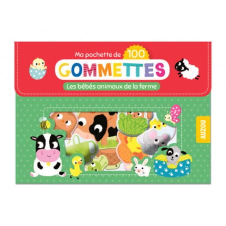 Acheter Pochette de 100 gommettes - les bébés animaux de la ferme - 4,95€ en ligne sur La Petite Epicerie - 100% Loisirs cré...