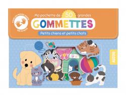 Acheter Pochette de 50 grandes gommettes - petits chiens et petits chats - 4,95€ en ligne sur La Petite Epicerie - 100% Lois...