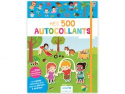 Acheter Cahier Mes 500 autocollants - bénéfices pour l'UNICEF - 7,95€ en ligne sur La Petite Epicerie - Loisirs créatifs