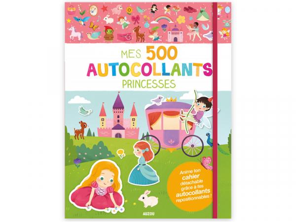 Acheter Cahier Mes 500 autocollants - princesses - 7,95€ en ligne sur La Petite Epicerie - 100% Loisirs créatifs