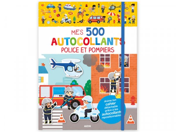 Acheter Cahier Mes 500 autocollants - police et pompiers - 7,95€ en ligne sur La Petite Epicerie - Loisirs créatifs