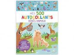 Acheter Cahier Mes 500 autocollants - les bébés animaux - 7,95€ en ligne sur La Petite Epicerie - 100% Loisirs créatifs