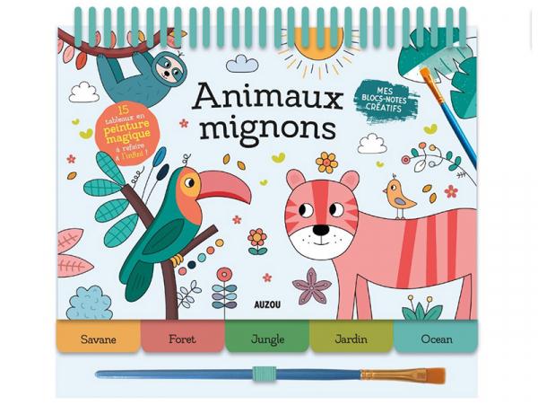 Acheter Livret peinture magique - les animaux mignons - 10,38€ en ligne sur La Petite Epicerie - Loisirs créatifs