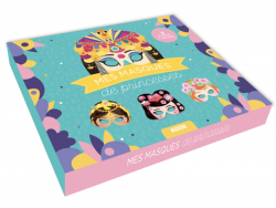 Acheter Coffret créatif mes masques de princesses - 8 masques - 12,95€ en ligne sur La Petite Epicerie - 100% Loisirs créatifs