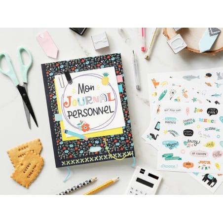 Acheter Coffet bujo / bullet journal Mon journal à personnaliser - Sandrine Monnier - 17,50€ en ligne sur La Petite Epicerie...