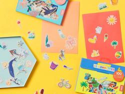 Acheter Pochette de 100 gommettes - les saisons - Inga Wilmink - 3,95€ en ligne sur La Petite Epicerie - 100% Loisirs créatifs