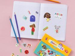 Acheter Pochette de 100 gommettes - l'école - Isabelle Chauvet - 4,95€ en ligne sur La Petite Epicerie - Loisirs créatifs