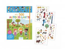 Acheter Cahier Mes 500 autocollants - bénéfices pour l'UNICEF - 7,95€ en ligne sur La Petite Epicerie - 100% Loisirs créatifs