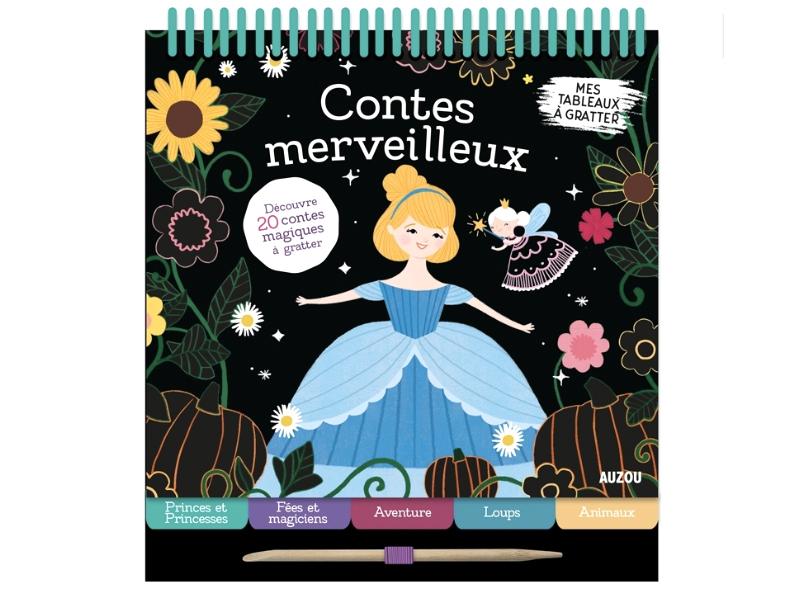 Acheter Contes merveilleux - 20 cartes à gratter - 9,95€ en ligne sur La Petite Epicerie - 100% Loisirs créatifs