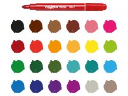 Acheter Pochette de 24 mini feutres - Carioca Mini - 6,79€ en ligne sur La Petite Epicerie - 100% Loisirs créatifs