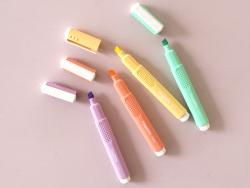 Acheter Surligneur orange pastel - Carioca - 1,90€ en ligne sur La Petite Epicerie - 100% Loisirs créatifs
