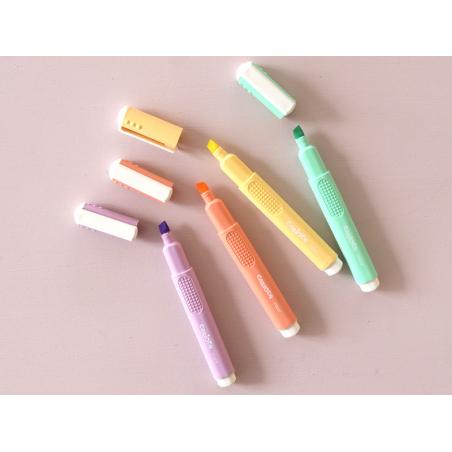 Acheter Surligneur jaune pastel - Carioca - 1,90€ en ligne sur La Petite Epicerie - 100% Loisirs créatifs