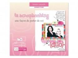 """French book """" le scrapbooking, une façon de parler de soi"""""""