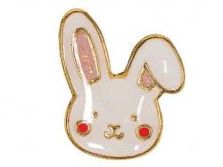 Acheter Mini brocher pin's Tête de lapin - 3,59€ en ligne sur La Petite Epicerie - Loisirs créatifs