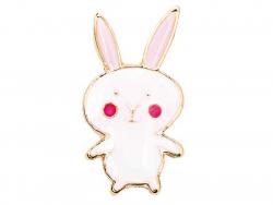 Acheter Mini broche pin's lapin aux joues roses - 3,69€ en ligne sur La Petite Epicerie - 100% Loisirs créatifs