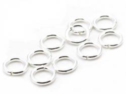 Acheter 10 anneaux 5mm - plaqué argent 925 - 0,79€ en ligne sur La Petite Epicerie - Loisirs créatifs