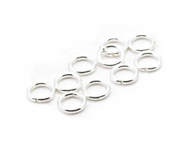 Acheter 10 anneaux 5mm - flash argent 925 - 0,79€ en ligne sur La Petite Epicerie - Loisirs créatifs