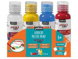 Acheter 4 pots de gouache primaire primacolor - 6,90€ en ligne sur La Petite Epicerie - Loisirs créatifs