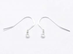 Acheter Paire de boucles d'oreilles crochets - argent 925 - 2,29€ en ligne sur La Petite Epicerie - Loisirs créatifs