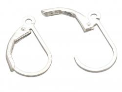 Acheter Paire de boucles d'oreilles dormeuses - argent 925 - 4,49€ en ligne sur La Petite Epicerie - 100% Loisirs créatifs
