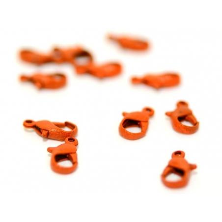 Acheter 1 fermoir mousqueton orange 12 mm - 0,39€ en ligne sur La Petite Epicerie - Loisirs créatifs