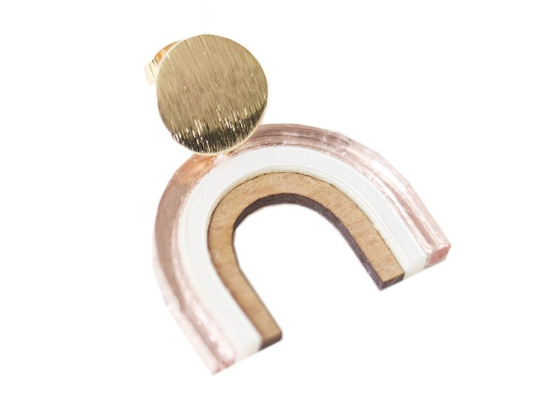 """Acheter Kit DIY édition limitée - Boucles d'oreilles """"Rêveuse"""" - rose - 13,99€ en ligne sur La Petite Epicerie - Loisirs cré..."""
