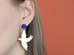 """Acheter Kit DIY édition limitée - Boucles d'oreilles """"Libre"""" - 13,99€ en ligne sur La Petite Epicerie - 100% Loisirs créatifs"""