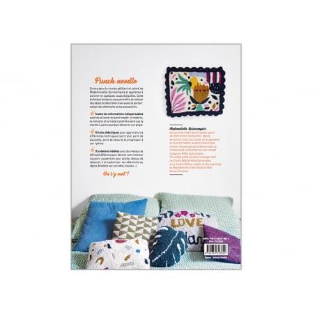 Acheter Livre - Punch needle de Mademoiselle Quincampoix - 19,90€ en ligne sur La Petite Epicerie - Loisirs créatifs