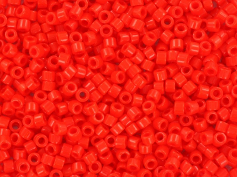 Acheter Miyuki Delicas 11/0 - Opaque vermillon red DB-727 - 1,99€ en ligne sur La Petite Epicerie - Loisirs créatifs