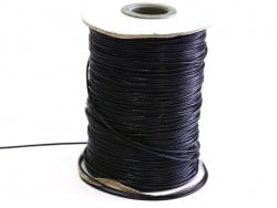1 m of polyester cord - black