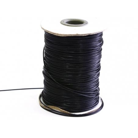 Acheter 1 m de fil polyester ciré - noir - 0,69€ en ligne sur La Petite Epicerie - Loisirs créatifs