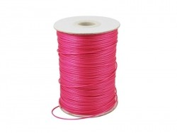 1 m of polyester cord - fuchsia