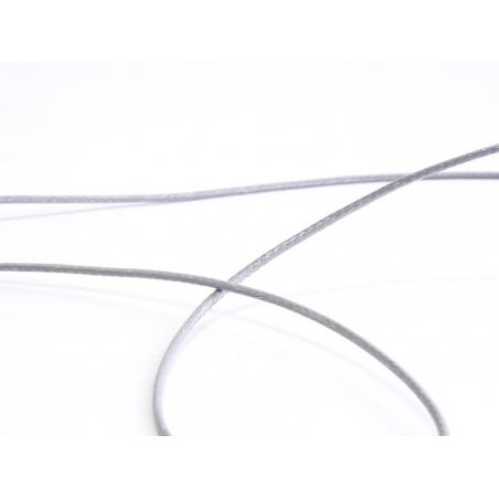 1 m de fil polyester ciré - gris