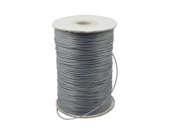 1 m of polyester cord - grey