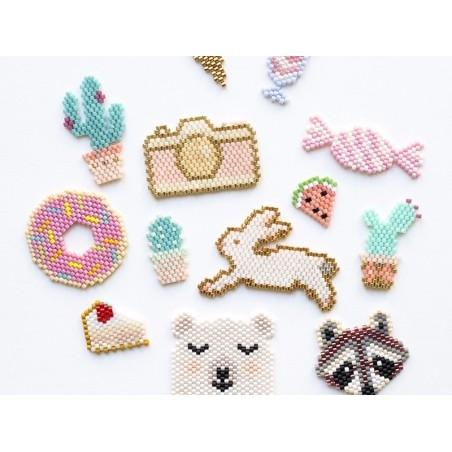 Acheter Miyuki Delicas 11/0 - Fancy lined sand DB-2395 - 1,99€ en ligne sur La Petite Epicerie - Loisirs créatifs
