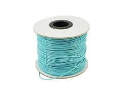 1 m de fil polyester ciré - turquoise
