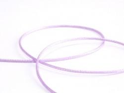 1 m de fil polyester ciré - violet pastel