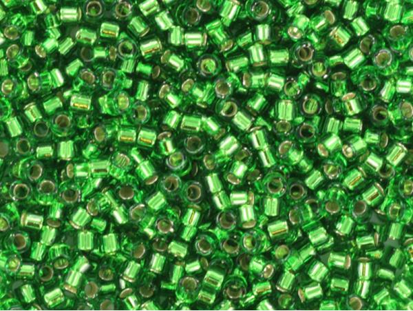 Acheter Miyuki Delicas 11/0 - Silverlined green DB-46 - 2,89€ en ligne sur La Petite Epicerie - Loisirs créatifs