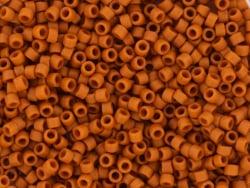 Acheter Miyuki Delicas 11/0 - Opaque glazed frosted burnt orange DB-2287 - 3,49€ en ligne sur La Petite Epicerie - Loisirs c...