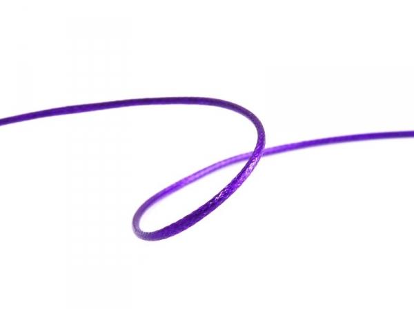 1 m de fil polyester ciré - violet  - 1