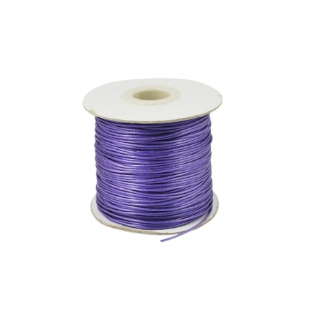 1 m of polyester cord - purple