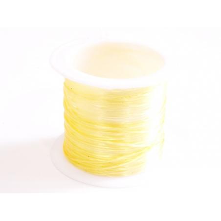 Acheter 12 m de fil élastique brillant - beige doré - 1,59€ en ligne sur La Petite Epicerie - Loisirs créatifs