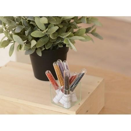 Acheter Miyuki Delicas 11/0 - Opaque matte ab gray DB-882 - 2,49€ en ligne sur La Petite Epicerie - Loisirs créatifs